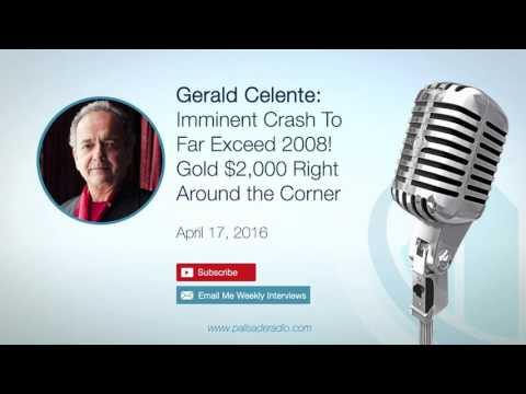 Gerald Celente: Imminent Crash To Far Exceed 2008! Gold $2,000 Right Around the Corner