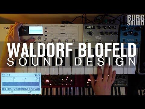 BURG SOUND - waldorf blofeld brassy lead (strymon timeline and bluesky)