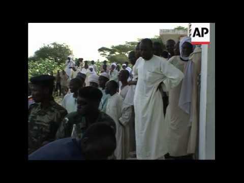 Ban ki Moon visits Lake Chad, news conference