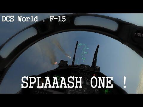 DCS World (En Multi) - Patrouille  mouvementée en F-15 !