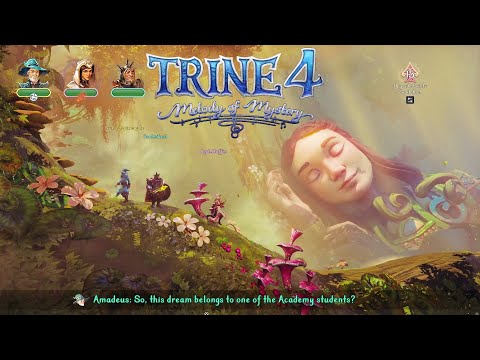 Let's Co-Op Play Trine 4: Melody of Mystery - Gislan's Dream (Part 1)  