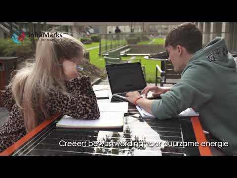 InfraMarks Smart solar bench