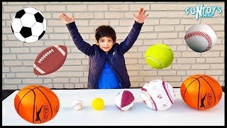 Learn Sports for Children and Toddlers