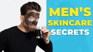 SKIN SECRETS FOR MEN | How to Have Clear Skin | Alex Costa