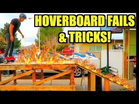 HOVERBOARD INSANE TRICKS & FAILS!