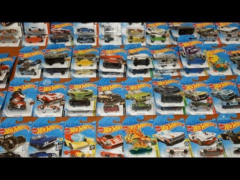 Распаковка Hot Wheels Оригинал Коробка 72 шт.