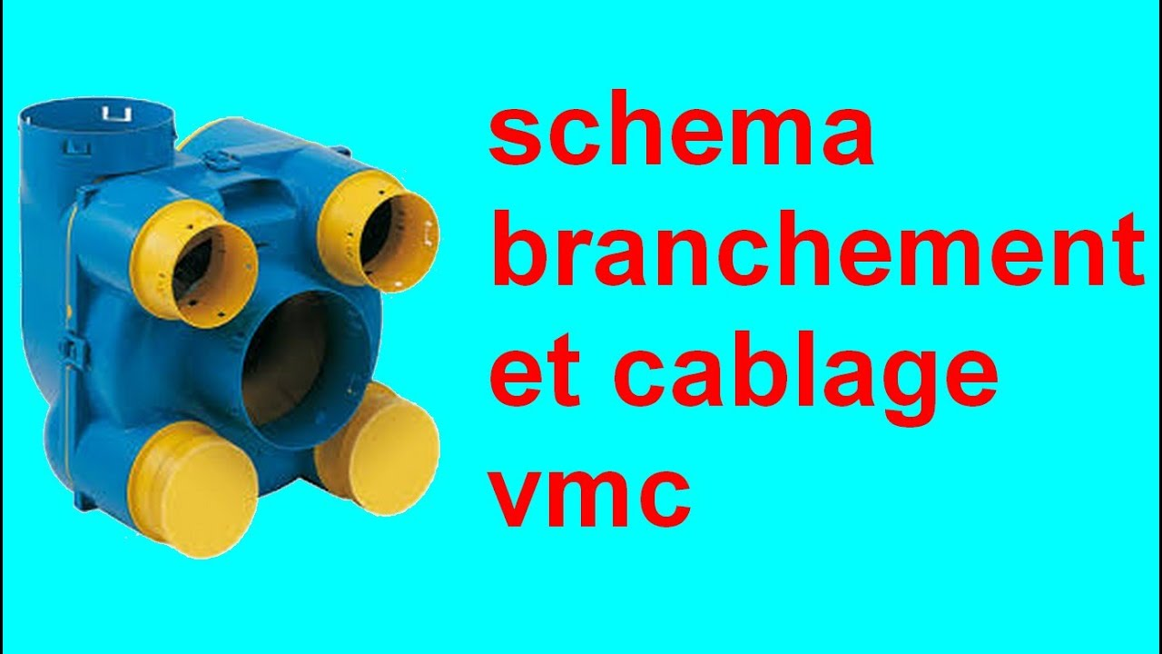 Schema branchement cablage vmc simple double flux maison for Alimentation maison commande
