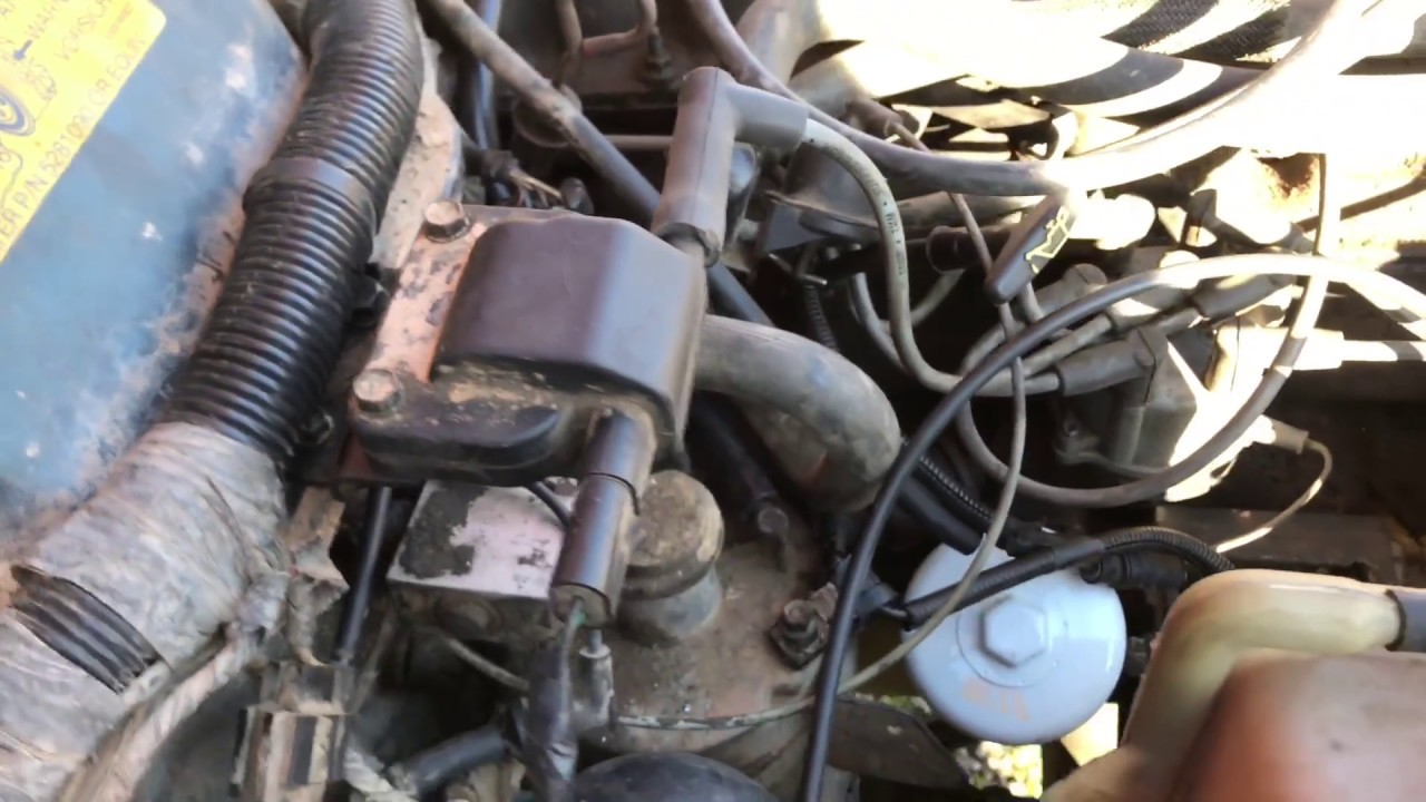 Relocating Ignition Coil On A Jeep Cherokee