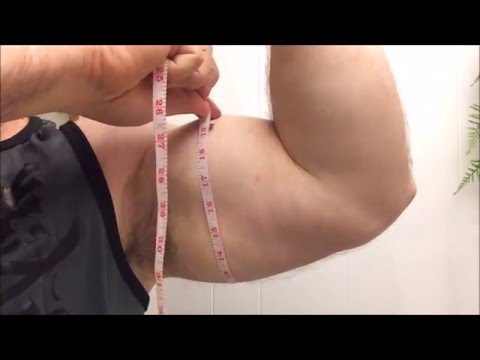 how to get 18 inch arms naturally
