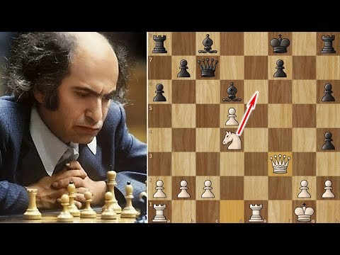Mikhail Tal beats Kasparov in 17 Moves - 1 Month before his Death