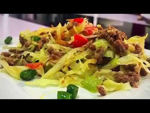 Zibby Can Cook - Asian Style Cabbage Stir Fry (rice substitute) #OneMinuteChef