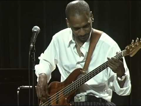 "Victor Bailey performs a improvised bass solo-""Bass Lines"" clinic at the Berklee 6-7-08"