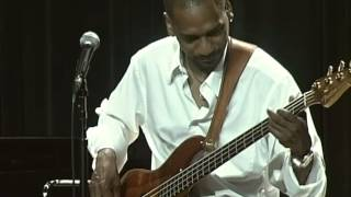 """Victor Bailey performs a improvised bass solo-""""Bass Lines"""" clinic at the Berklee 6-7-08"""
