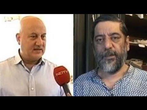 Anupam Kher spars with Rakesh Sharma over Gujarat riots film
