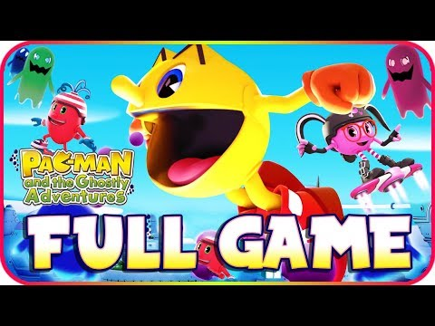 Pac-Man And The Ghostly Adventures FULL GAME Longplay (PS3, X360, WiiU)