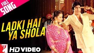 Ladki Hai Ya Shola - Full Song HD | Silsila | Amitabh | Rekha | Kishore Kumar | Lata Mangeshkar