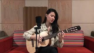Pilu Membiru - Kunto Aji (Live Acoustic Cover by Farah Fairuz)