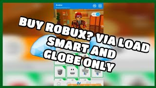How To Buy Robux Using Load Smart Preuzmi