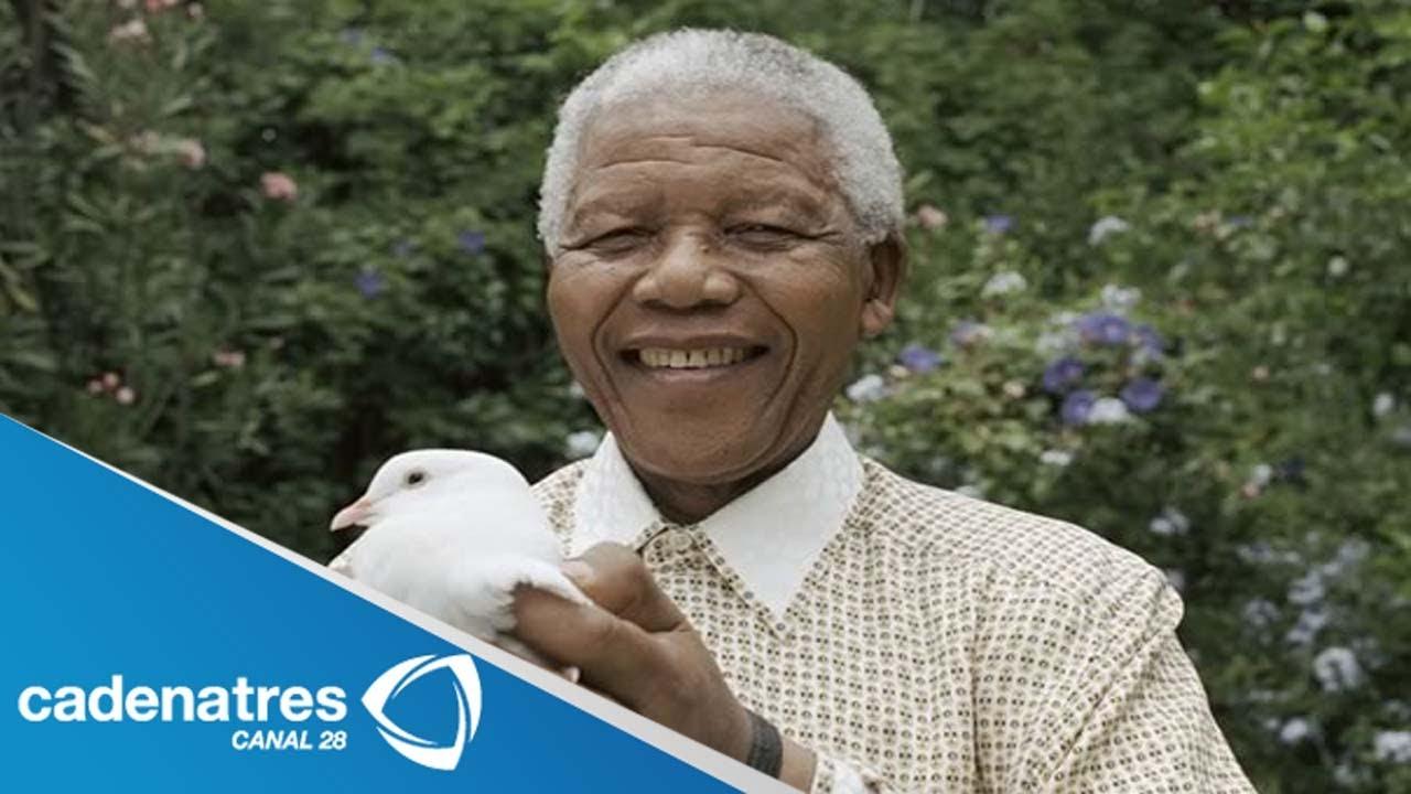 Quién Es Nelson Mandela Conoce La Vida De Nelson Mandela Youtube