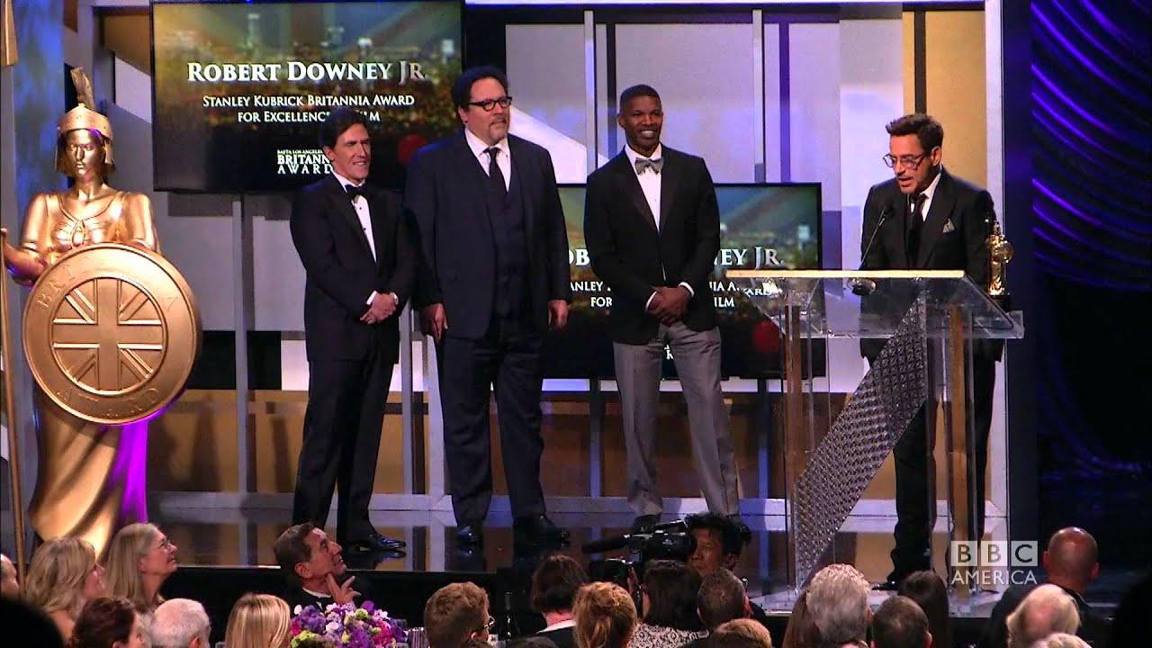robert downey jr accepts britannia 2014 britannia awards on bbc america youtube. Black Bedroom Furniture Sets. Home Design Ideas