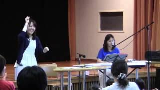 2014/07/06 札幌市 中央図書館 「図書館でデビュー」イベント。参加者の...