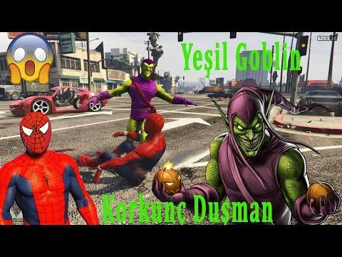 Şimşek McQueen Ve Örümcek Adam Yeşil Gobline Karşı | Süper Kahramanlar Çizgi Film İzle #31