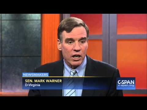 Sen. Mark Warner on Bernie Sanders (C-SPAN)