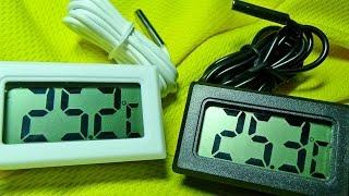 видео Уличный цифровой термометр с Алиэкспресс. Отзыв, доставка, впечатления и фото термометра.