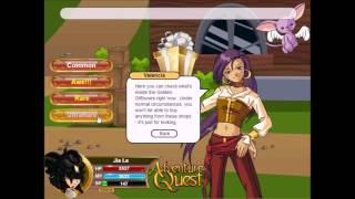AQ | Adventure Quest | Battleon | February 2017 Golden Giftbox Crossover Extravaganza!