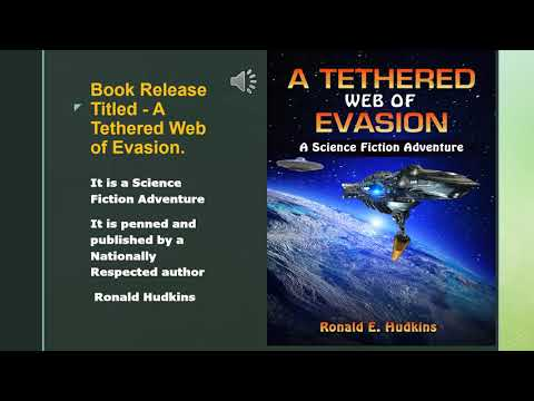 Book Release - A Tethered Web of Evasion - Science Fiction Adventure