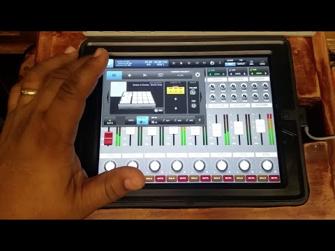Mobile Music Production Studio - BeatMaker 2 Tutorial - Loading Drum Samples