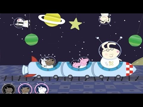 Peppa Pig in Space and Swimming Pool