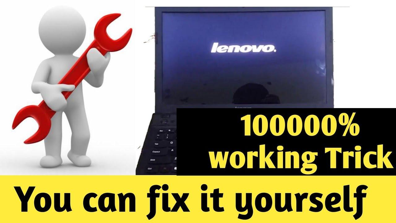 Lenovo Laptop Stuck On Starting Windows Screen Laptop Stuck On Black Screen Laptop Stuck On Boot Youtube