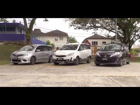 Proton Exora vs Perodua Alza vs Nissan Grand Livina - Roda Pusing Review