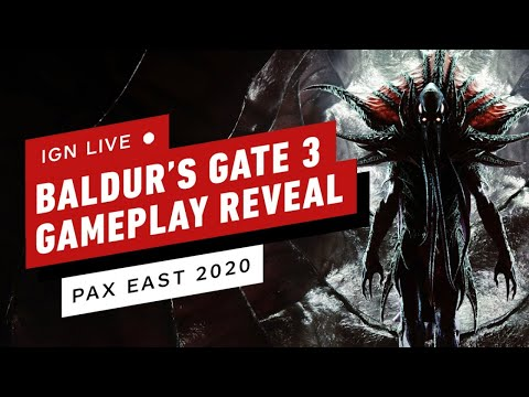Baldur's Gate 3 Gameplay Reveal - PAX East 2020 Live Stream