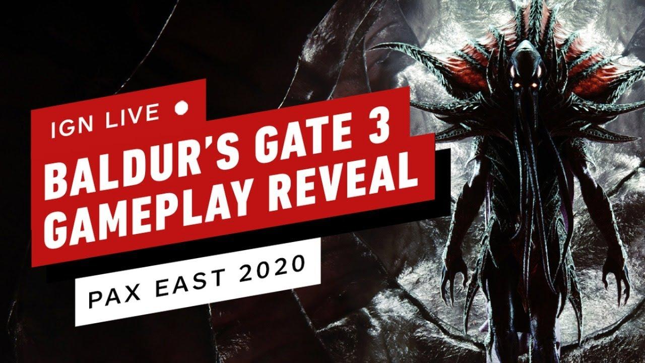 Rivelazione del gameplay di Baldur's Gate 3 thumbnail