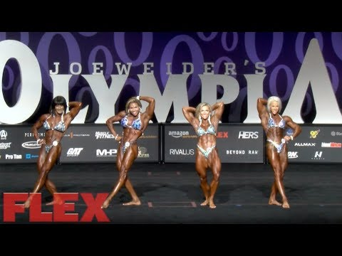 2017 Women's Physique Olympia Comparisons & Awards