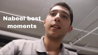 Nabeel best moments from david's vlogs