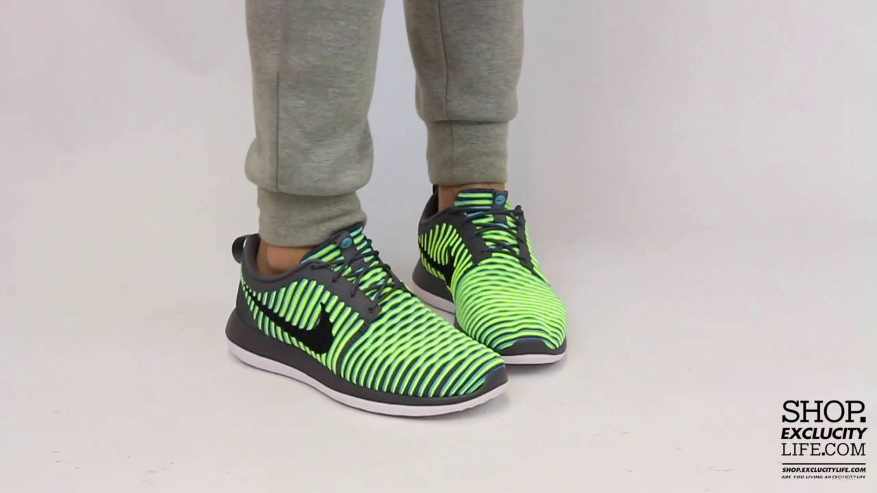 8e93bd4ef935 ... 50% off nike roshe two flyknit volt on feet video at exclucity 4b9c5  e20b6