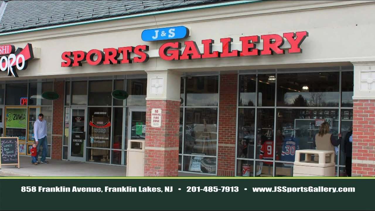 Bergen County Sports Memorabilia Store Clothing And More