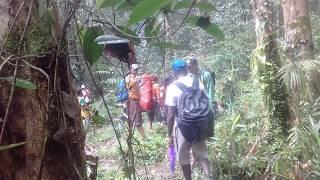 Bersama tim ekspedisi NKRI Papua selatan Kab. Asmat di Distrik Korowai Buluanop 2017