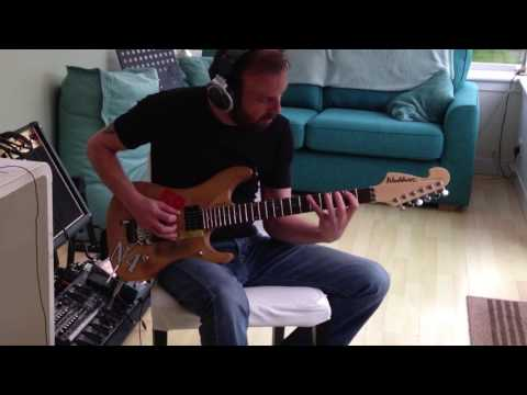 Joe Satriani - Rubina's Blue Sky Happiness Cover By Kristian Clezy and Martin Wardlaw