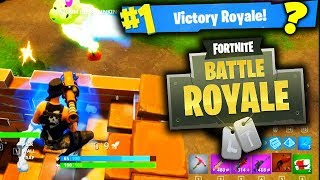 LUCKIEST GAME OF FORTNITE BATTLE ROYALE!!!!