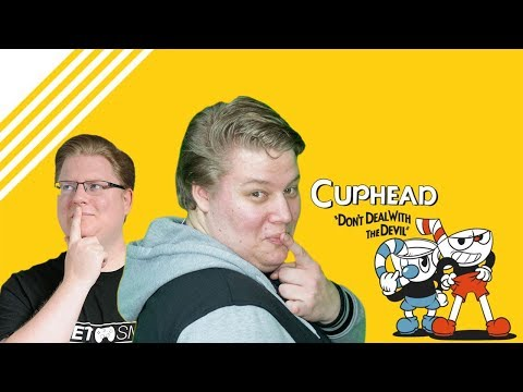 Cuphead live mit Brammen und Pedda