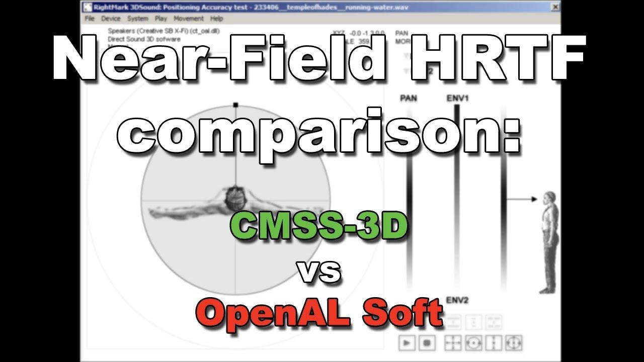 DRIVER UPDATE: HRTF 3D SOUND