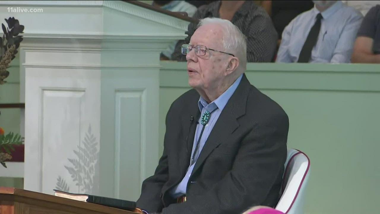 Former President Jimmy Carter turns 97