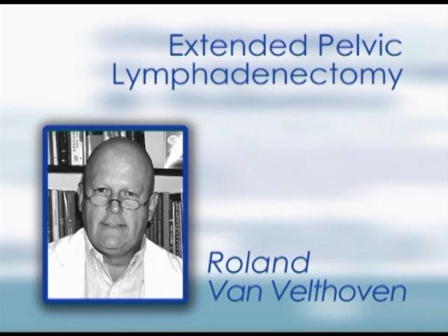CILR 2011 - Roland Van Velthoven - Extended pelvic lymphadenectomy