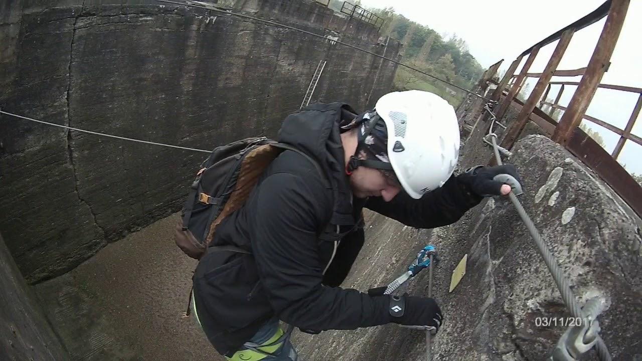 Klettersteig Duisburg : Klettersteig im hochofen in duisburg nrw