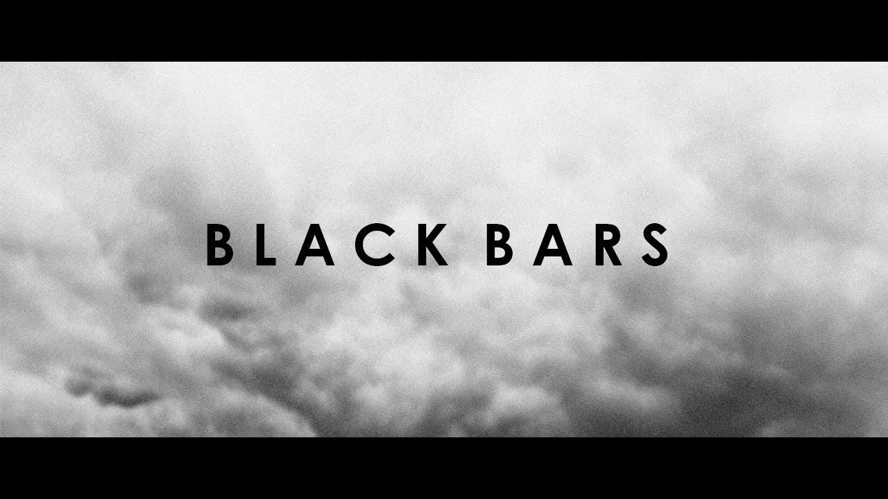 how to add black bars widescreen in sony vegas youtube