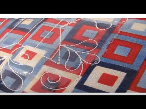 Quilting With An Embroidery Machine Youtube